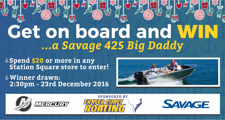 GET ON BOARD WITH US AT STATION SQUARE THIS CHRISTMAS
