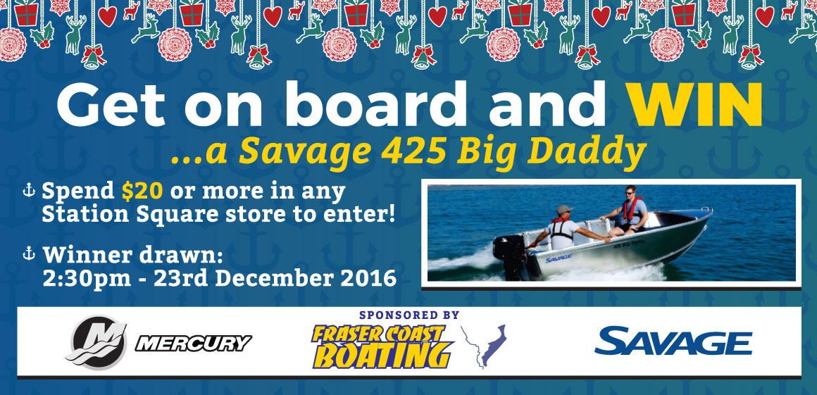GET ON BOARD WITH US AT STATION SQUARE THIS CHRISTMAS!