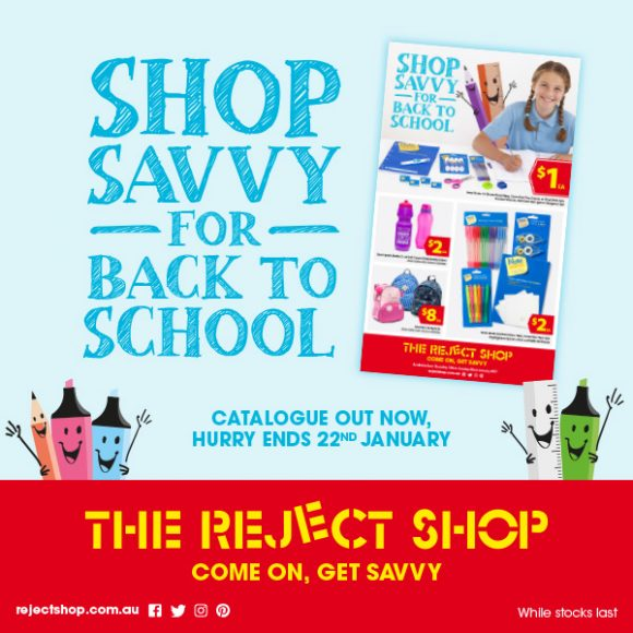 Shop Savvy for Back to School