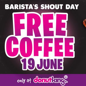 BARISTA SHOUT DAY