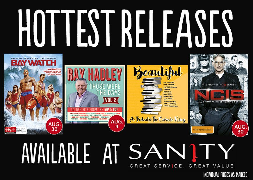 August Hot Releases