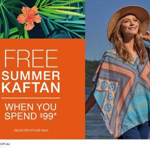 FREE summer Kaftan