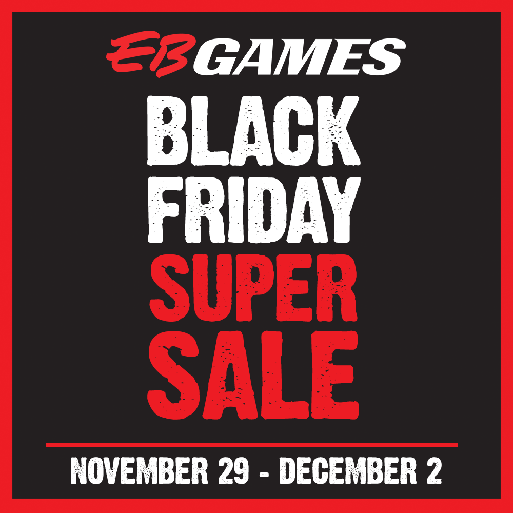 EB Games Black Friday Super Sale