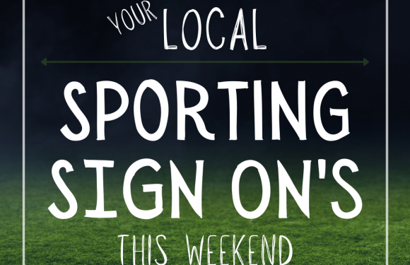 Your local sporting club sign ons